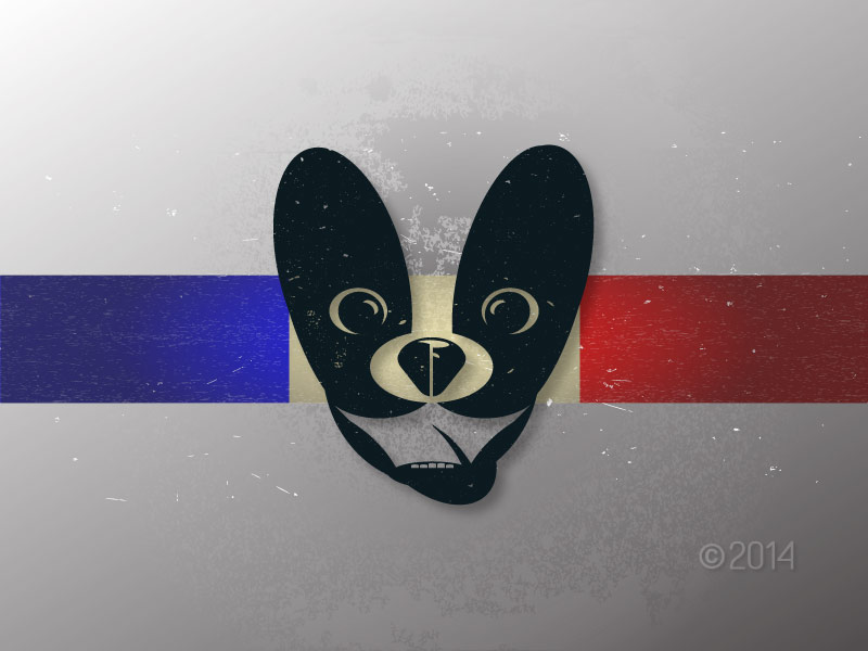 New Identity sketch for LoutheFrenchie.com