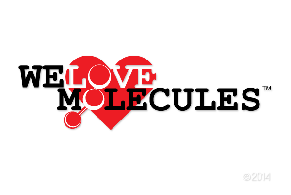 We Love Molecules logo
